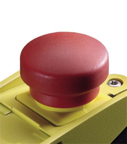 botón pulsador de seta / de parada de emergencia / de plástico / IP65