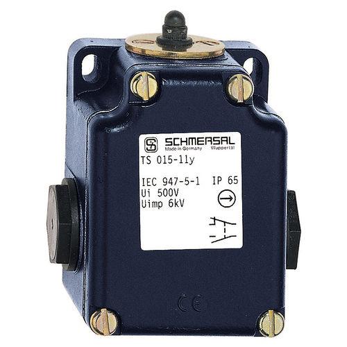 interruptor de posición IP65 / de acero inoxidable / con émbolo