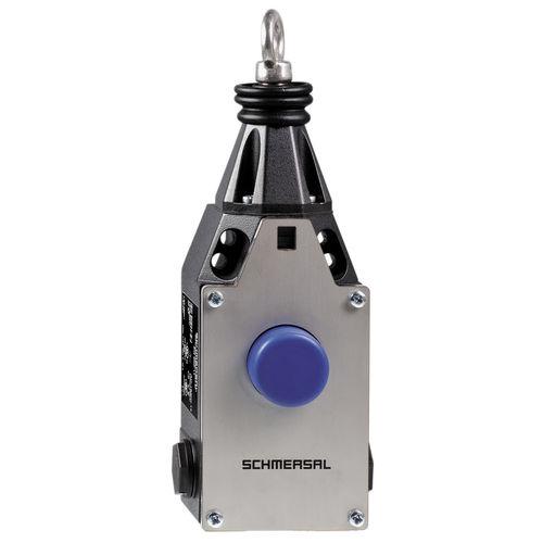 interruptor con control por cable / unipolar / electromecánico / de parada de emergencia
