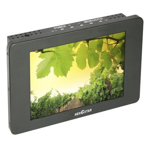 monitor LCD TFT / con pantalla táctil resistiva / 8.4