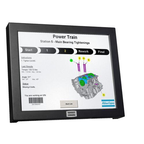 HMI con pantalla táctil / empotrable / de visualización