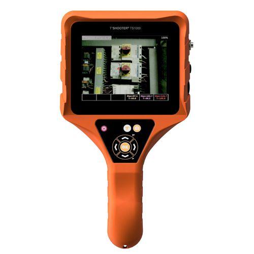 cámara térmica / de detección / de infrarrojos / con pantalla LCD