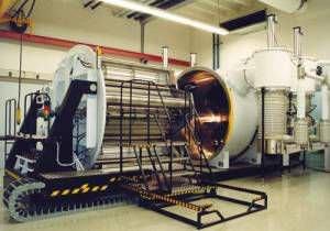 máquina de deposición por pulverización catódica con magnetrón