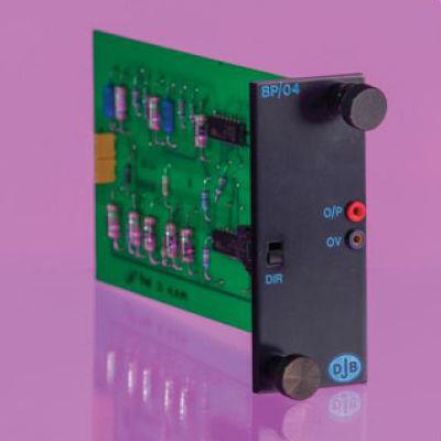 filtro electrónico paso banda / activo / de señal