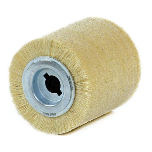 cepillo cilíndrico / de limpieza / de pulido / de fibra de vidrio