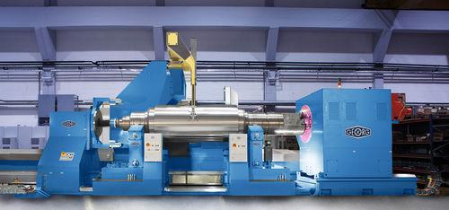 rectificadora cilíndrica exterior / para chapa metálica / CNC / de grandes dimensiones