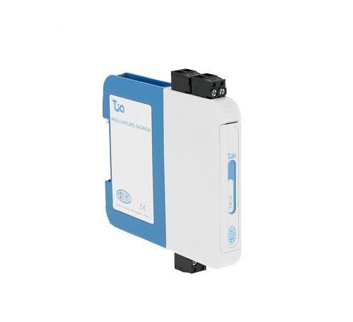 convertidor de temperatura / 4-20 mA / en riel DIN / programable