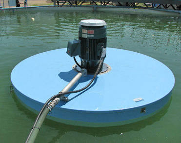 aireador / mezclador para tratamiento de aguas residuales