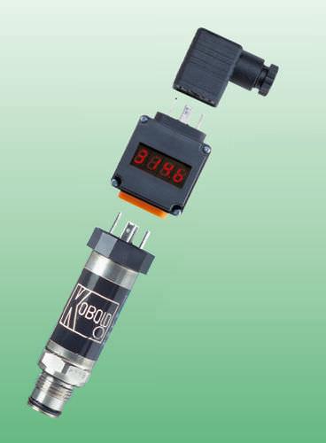 sensor de presión relativa / piezorresistivo / de membrana / analógico