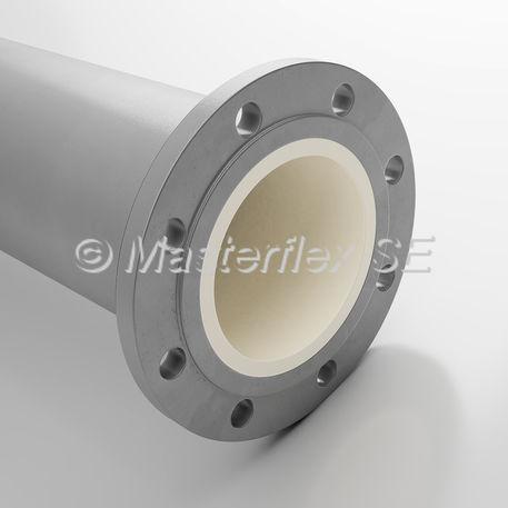 tubería rígida para aire comprimido / de transporte / de acero / de brida