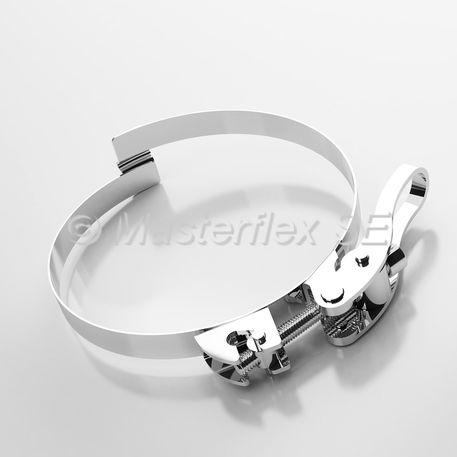 abrazadera de apriete de acero inoxidable / tipo puente / resistente a la corrosión / robusta