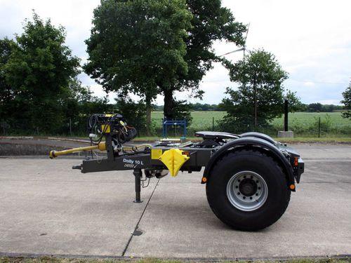 remolque de 1 eje / para equipamiento industrial / portamaquinaria / agrícola