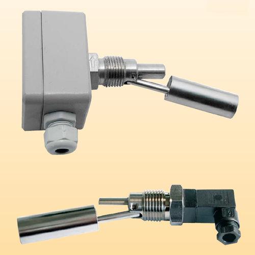 interruptor de nivel de flotador horizontal / para líquidos / de acero inoxidable / roscado