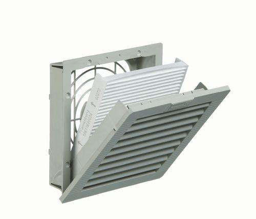 ventilador de pared / para armario eléctrico / axial / de evacuación