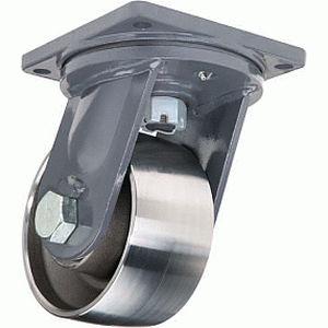 ruedecilla giratoria / con platino giratorio / carga muy pesada / de metal