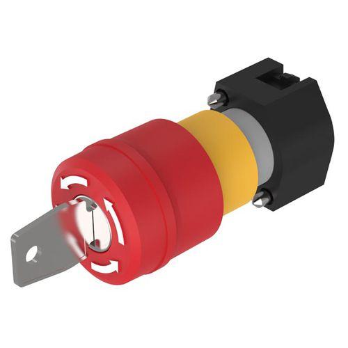 interruptor con cabeza fungiforme / multipolar / para actuador / redondo