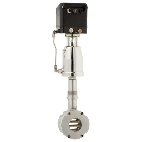 válvula de globo / electroneumática / con control neumático / de cierre
