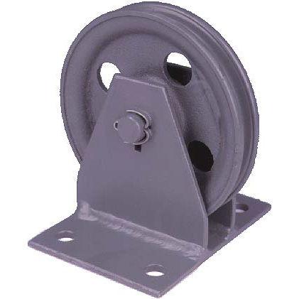polea de rodillos / para cable de acero / vertical
