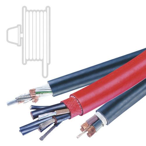 cable eléctrico blindado / para enrollacable