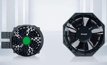 ventilador axial / de refrigeración / industrial / AC