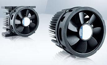 ventilador de refrigeración / para la electrónica / axial / de bajo ruido