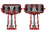 actuador para válvula neumático / lineal / de pistón / con muelle antagonista