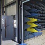 sistema de puertas corredero / para interior / de acceso / automático