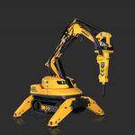 robot de demolición con mando a distancia / compacto / para la industria nuclear