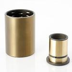 cojinete liso cilíndrico / de cobre / aleación de aluminio / resistente a la corrosión