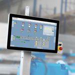sistema de control de vigilancia / digital / para máquinas / automático