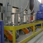 filtro de aire comprimido / con cartucho / instalado / de proceso