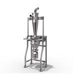 separador vertical / de alta eficacia / sin filtro