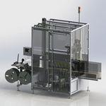 aplicador de etiquetas para manga termorretráctil