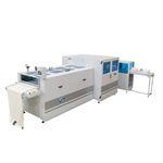 máquina plegadora de tejidos / eléctrica / automática