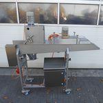 máquina de recubrimiento para la industria agroalimentaria