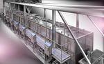 cocedor industrial para carne / de vapor / automático / batch