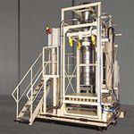 sistema de llenado IBC / para productos a granel / enteramente automático / ponderal