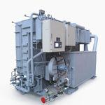 refrigerador de aceite / de gas / para la industria / de absorción