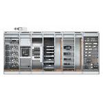 cuadro eléctrico para rack para distribución eléctrica / de baja tensión