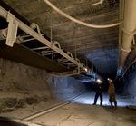 transportador de banda / para la industria minera / para suelo / anchas