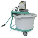 mezcladora de palas / batch / sólido / para hormigón
