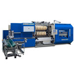 cortadora rebobinadora para cinta adhesiva