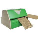 máquina de relleno partículas de cartón