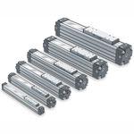 actuador lineal / neumático / compacto
