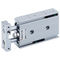 cilindro neumático / con varilla de pistón guiada / con pistón doble / compactoCXSJSMC Corporation of America