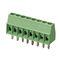 bloque de conexión con tornillo / para circuito impreso / bipolar / tripolar