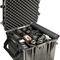 maletín de protección / de polipropileno / para los entornos más difíciles no viarios / con espuma precortada en cubos