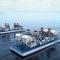 central eléctrica de turbina / flotanteSIEMENS Power Genereration