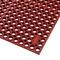 alfombra antifatiga / de caucho nitrilo / estriada / para la industria agroalimentaria