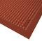 alfombra antifatiga / de caucho nitrilo / de burbujas / para la industria agroalimentaria